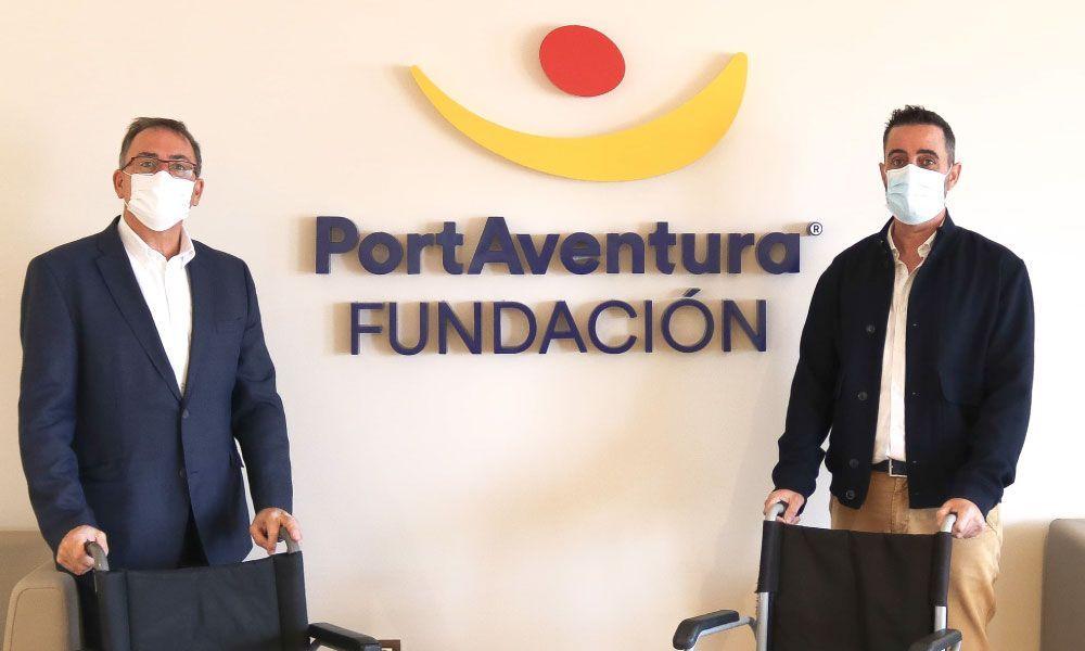 Donació a PortAventura
