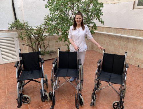 Grupo Mimara dona 5 sillas de ruedas y 2 andadores al Club Rotary Amistad Hispano Marroquí