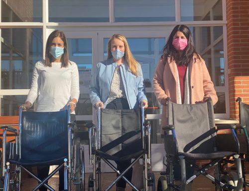 Grupo Mimara dona cinco sillas de ruedas a Aspace Soria